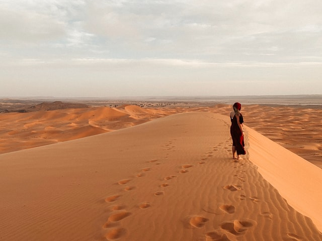 the climate of Morocco