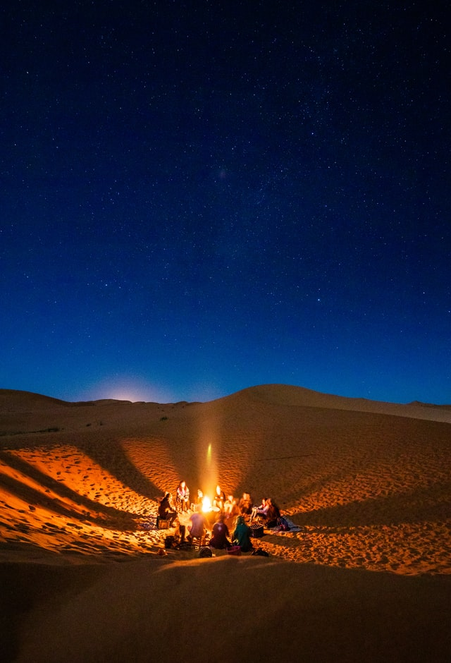 Morocco desert tours with a family